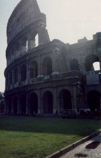 The Colosseum circa 1990, early morning.
