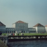 Nymphenburg Palace, Germany. This is a partial exterior. The palace was too big to fit without walking much further away.